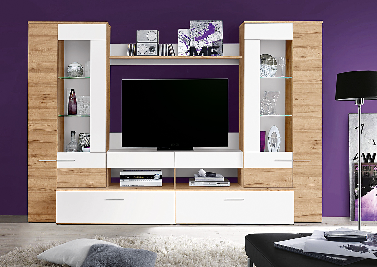 wohnw nde m bel wolf. Black Bedroom Furniture Sets. Home Design Ideas